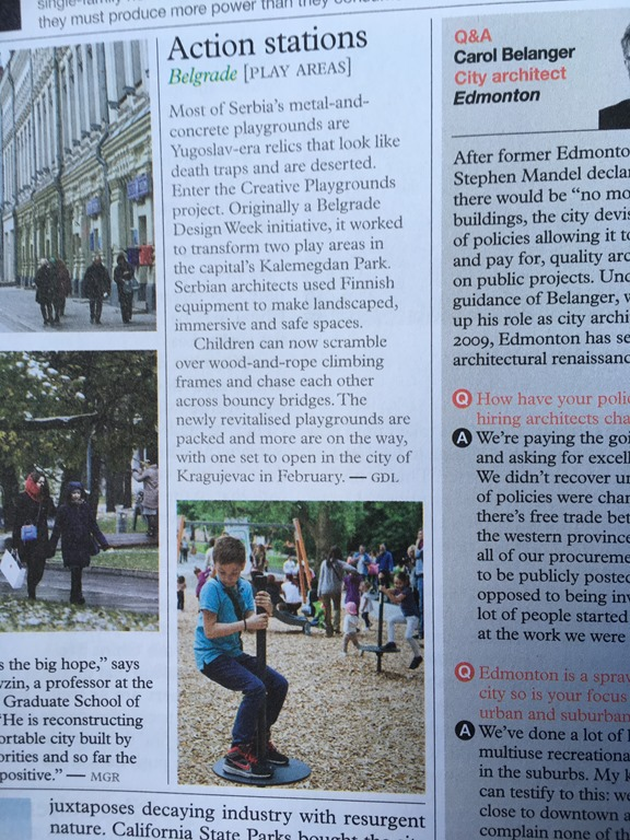 Monocle: Belgrade Play Areas