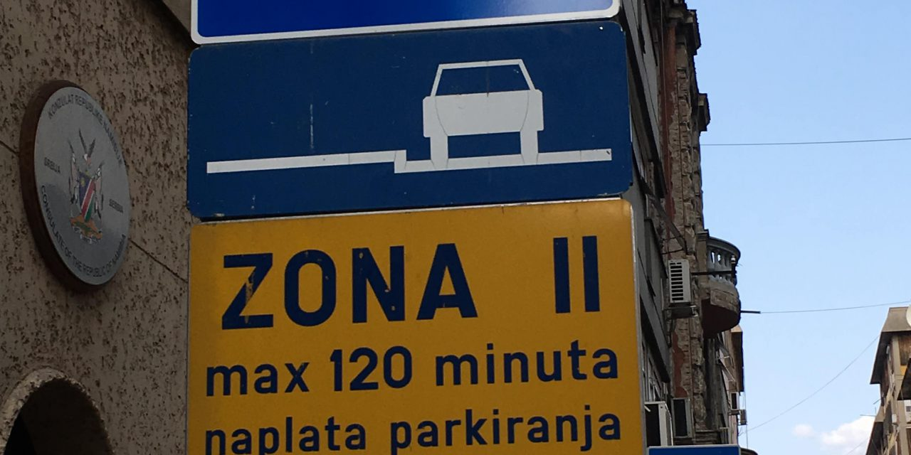Biggest headache in Belgrade? Parking.