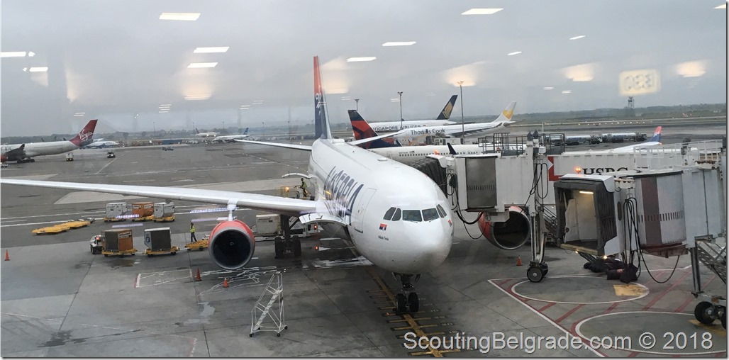 Air Serbia JFK to BEG experience